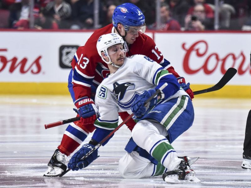 Canadiens' inability to hold lead strikes again in OT loss to Canucks — Montreal Gazette