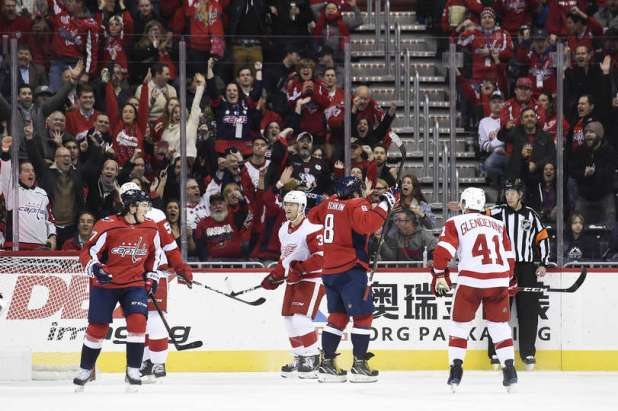 Capitals Alex Ovechkin Records 21st Career Hat Trick Against the Detroit Red Wings — NoVa Caps