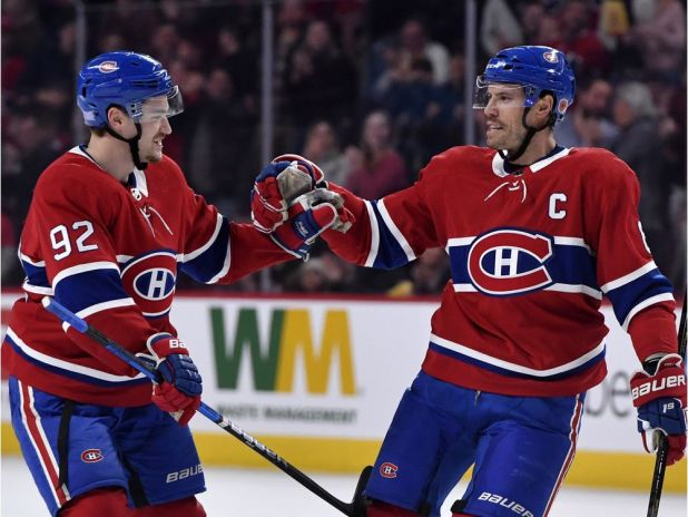 Shea Weber powers Canadiens over Kings with early two-goal effort — Montreal Gazette