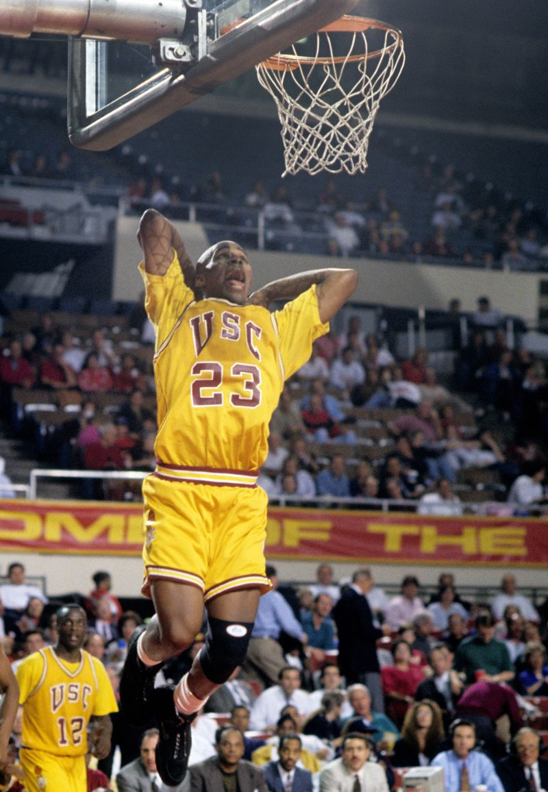 USC's Harold Miner among many labeled the 'next Michael Jordan' — Trojans Wire