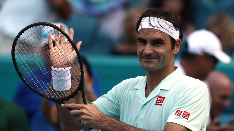 Federer finishes with flurry of aces in 3rd round at Miami — — NBC Sports