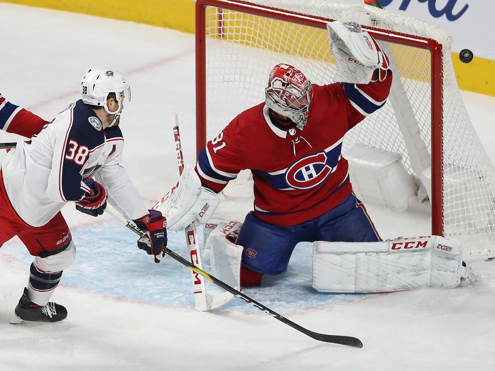 Canadiens ride last-minute goal to shootout victory over the Jackets — Montreal Gazette