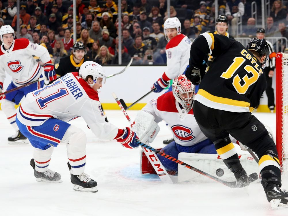 Canadiens run losing streak to eight games after taking early lead against Bruins — Montreal Gazette