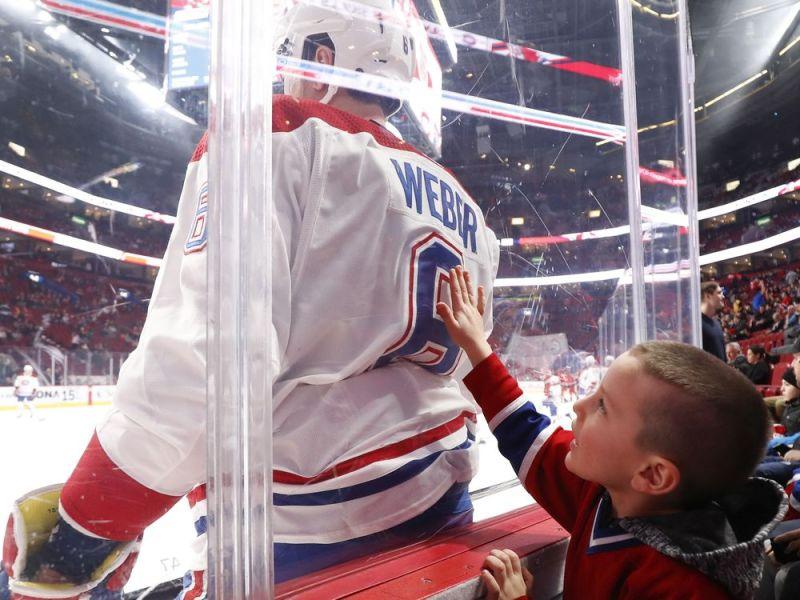 Canadiens' Shea Weber winner of Jean Béliveau Trophy — Montreal Gazette