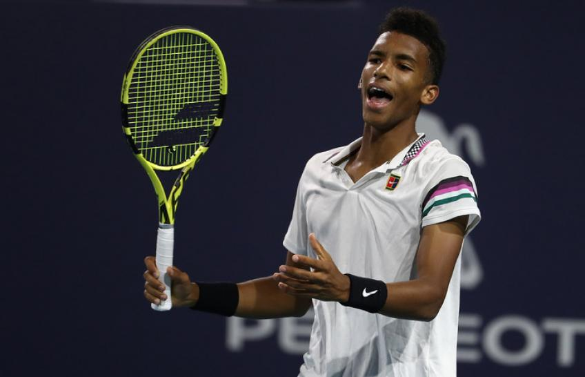 Felix Auger-Aliassime talks about his French Open withdrawal