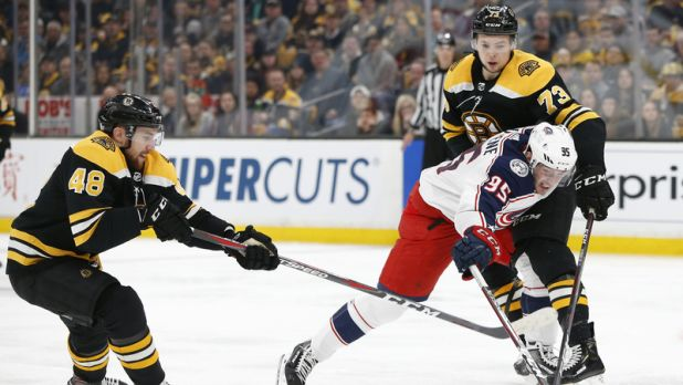Bruins Wrap: Boston Suffers Double OT Loss To Blue Jackets In Game 2 — NESN.com