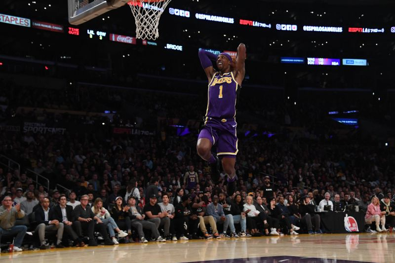 """Frank Vogel on Kentavious Caldwell-Pope after huge game one performance: """"He's one of the hardest playing guys in the league"""" — Lakers Outsiders"""