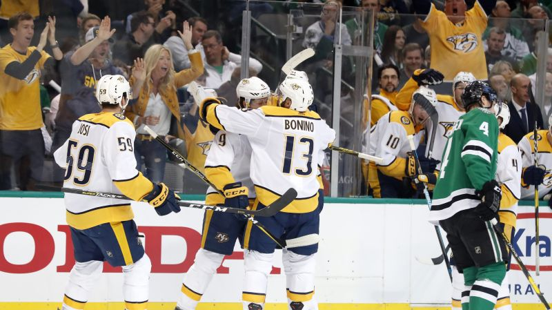Granlund's goal the difference as Predators edge Stars in Game 3 — ProHockeyTalk