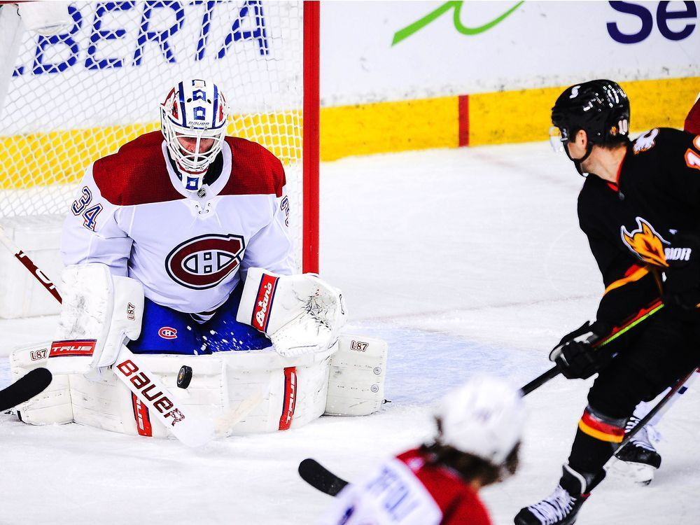 Lacklustre performance by the Habs in 2-1 loss to the Flames — Montreal Gazette