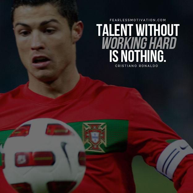 Inspirational Soccer Quotes— Cristiano Ronaldo