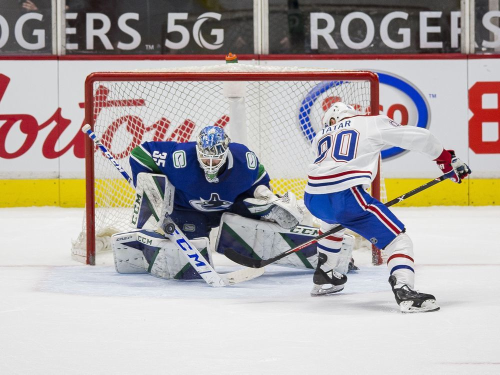 Liveblog replay: Danault breaks goalless drought, Habs beat Canucks 5-1 — Montreal Gazette
