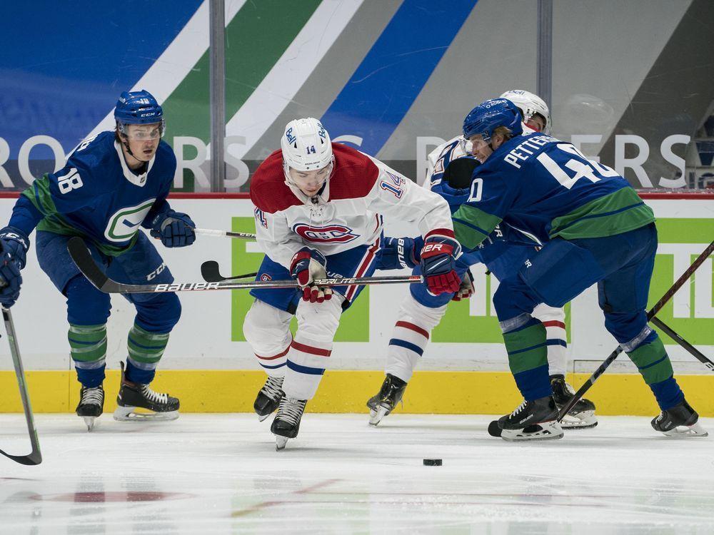 Liveblog replay: Canucks edge Canadiens 2-1 in shootout — Montreal Gazette