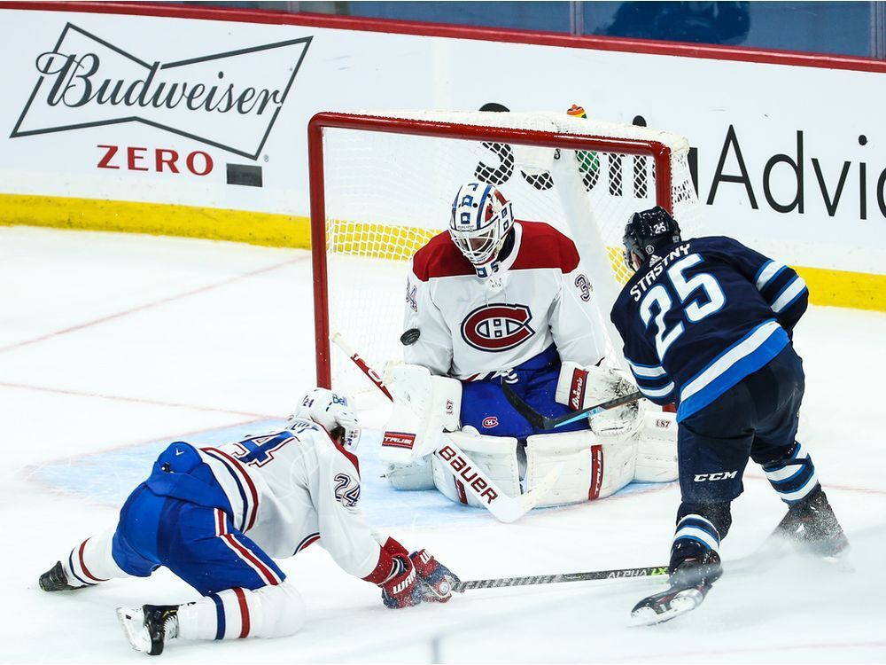 Liveblog replay: Jets win 4-3 over Canadiens in overtime — Montreal Gazette
