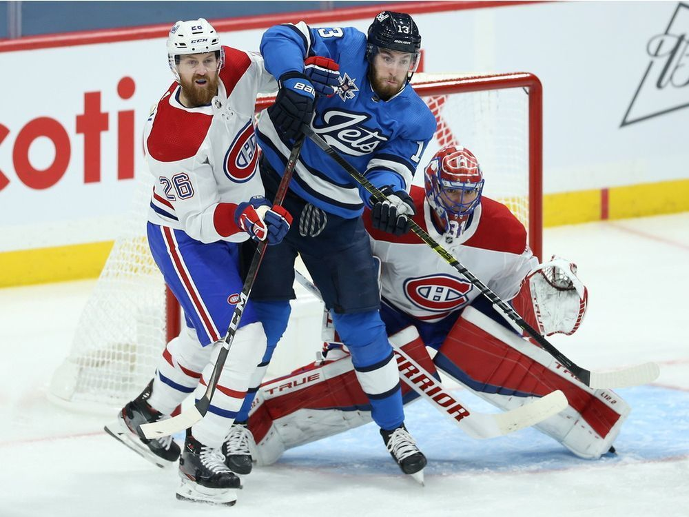 Canadiens battle back late to earn a point, but fall 4-3 to Jets in OT — Montreal Gazette