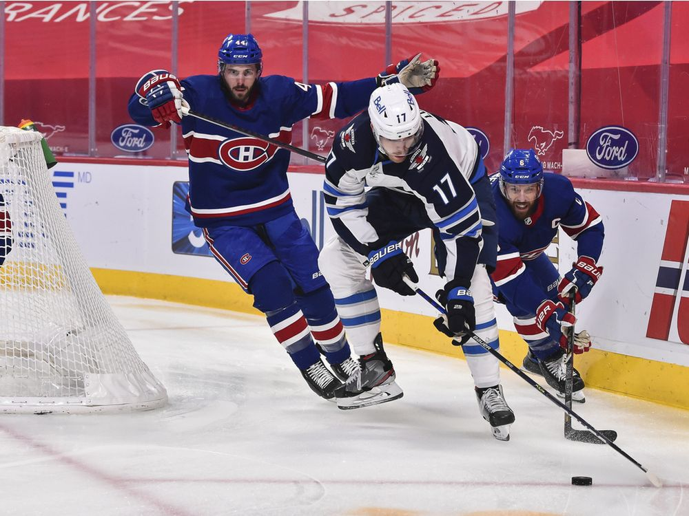 Liveblog replay: Jets rout the Habs 5-0 on Saturday night — Montreal Gazette