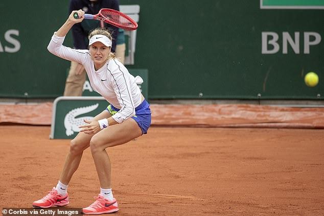 Tennis star Eugenie Bouchard, 27, celebrates getting her 'Willy Wonka Golden Ticket' Covid-19 jab — Distinct Today