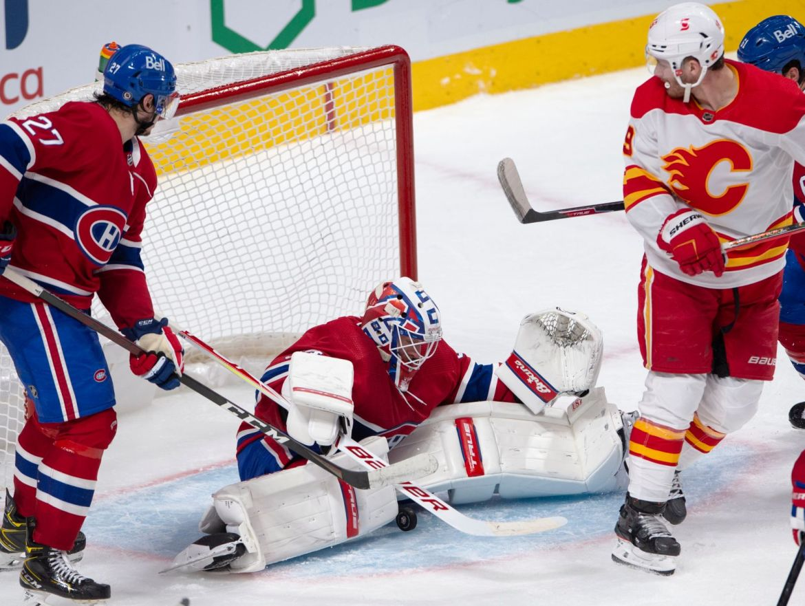 Calgary Flames put playoff pressure on Montreal Canadiens with 4-1 win over Habs — Global News