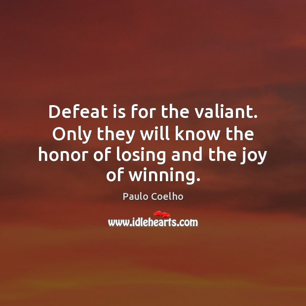 QUOTE ON THE JOY OF WINNING