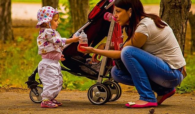 Correr con carritos de bebe, nuevo deporte de moda