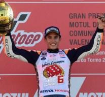 Marc Márquez logra su cuarto título de campeón del mundo de MotoGP