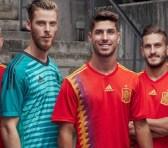España ya tiene uniforme para el mundial de fútbol Rusia 2018