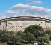 Todo listo para el primer derbi en el Wanda Metropolitano