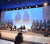 Telefónica presenta al equipo masculino y femenino del Movistar Team