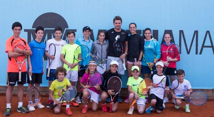 """Mutua Madrileña organiza el IV torneo infantil de tenis """"SOY de la Mutua, SOY Ganador"""""""