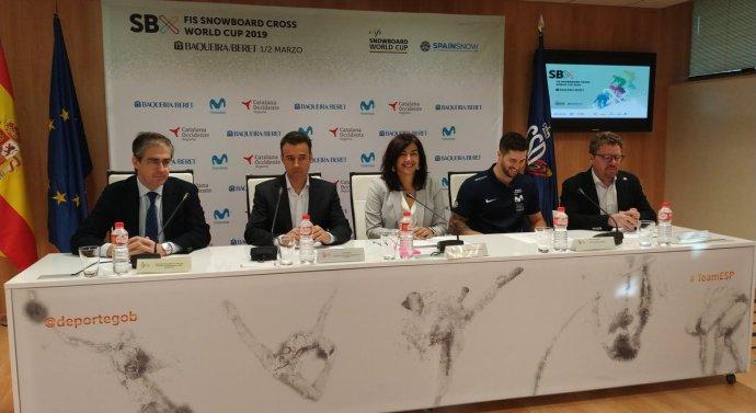Movistar vuelve a apoyar la Copa del Mundo de Snowboard Cross FIS