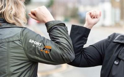 Be Safe med Sport & Profil – Køb mundbind med logo hos os