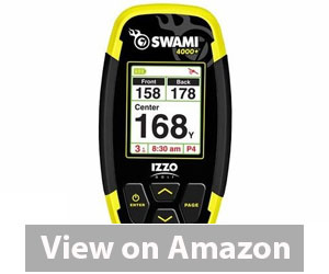 Best Golf GPS - IZZO Swami 4000+ Golf GPS Review
