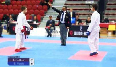 Edis SM-guld i karate