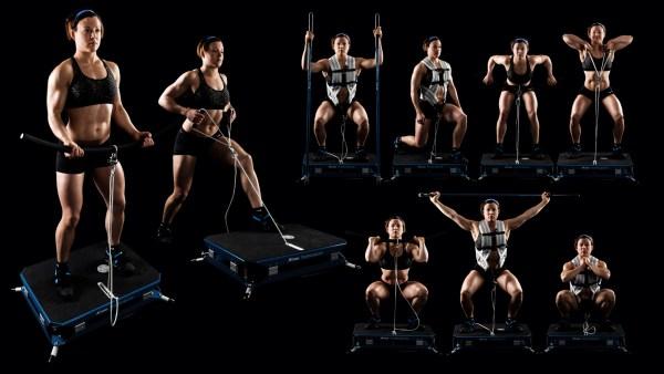 Träningsredskapet Coneline finns att testa på Sport Performance Center i Västerås