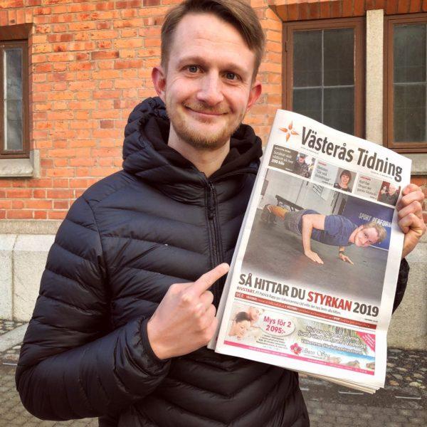 Personliga tränaren Patrick Rapp från Sport Performance Center blev intervjuad av Västerås Tidning.