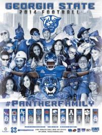 Georgia State Football Poster