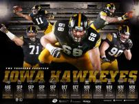 Iowa Football Poster