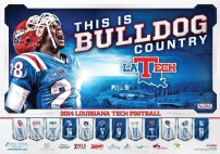 La Tech Football Poster Version 1
