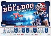 La Tech Football Poster Version 3