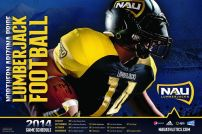NAU Football Poster
