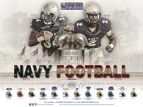 Navy Football Poster