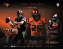 Oregon State Spring Football Poster