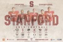 Stanford Football Spring Poster