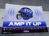 TCU Football Poster