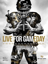 Wake Forest Football Poster