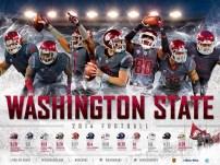 WSU Football Poster