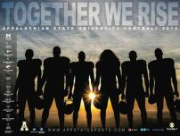 App State Football Poster
