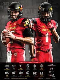 Maryland Football Poster