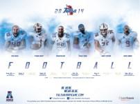 Tulsa Football Poster