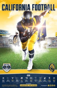 Cal Football Spring Poster