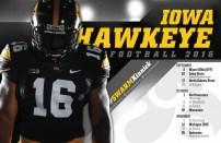 Iowa Football Spring Poster